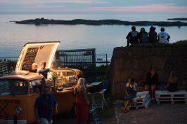 Skön stämning på Grand Finale på Varbergs Fästning