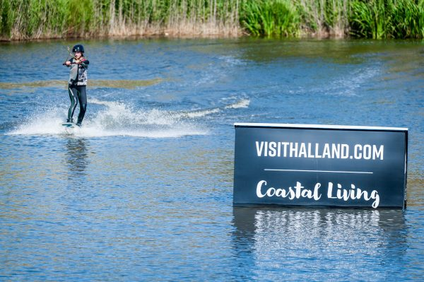 Wakeboard i Vallgraven